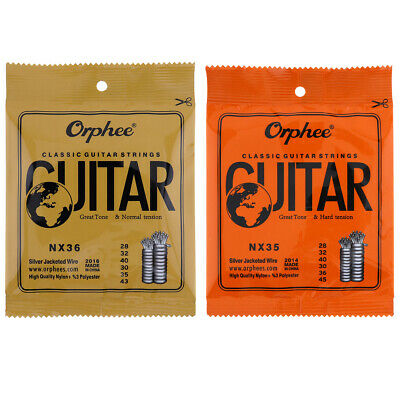 Orphee 6pcs/set Guitar Strings Conventional Classical Guitar String Series  D7F1