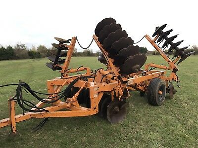 Simba Series 2B 6M Discs/ Disc Harrows/ Cultivator For Tractor PLUS VAT