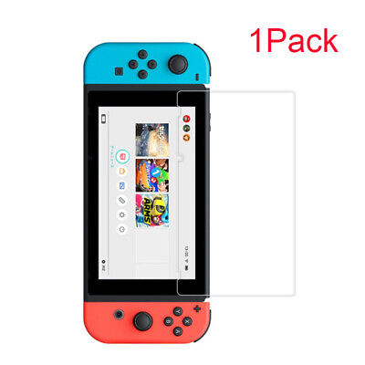 For Nintendo Switch - Tempered Glass Screen Protector Includes Install Video sm