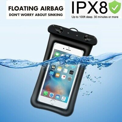 Waterproof Bag Underwater Pouch Dry Case Cover For Samsung iPhone Cell Phone New