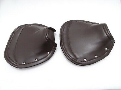 New Lambretta Front & Rear Seat Cover Set (Brown) #Vp766  @Cl