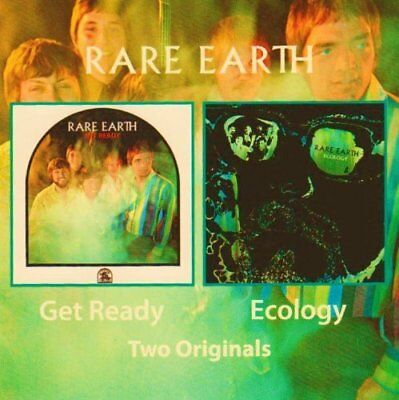 RARE EARTH - Get Ready & Ecology (2 albums in one CD)
