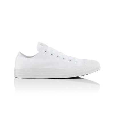 Converse Chuck Taylor All Star Low Unisex's Casual Shoe - White Monochrome