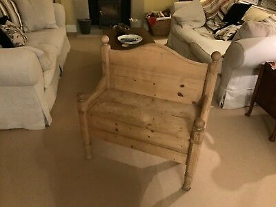 Pine Bench Small