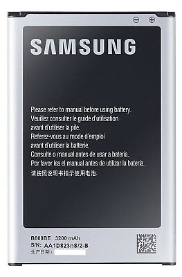 Original Samsung Galaxy Note 3 N9005 Akku Accu Batterie Battery B800BE