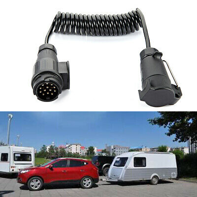 13Pin Trailer Extension Cable With Trailer Extension Cable Connector 3m Truck