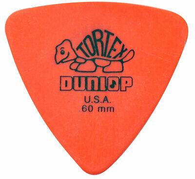 JIM DUNLOP Guitar PICK TORTEX TRIANGLE 0.60 mm p-00129