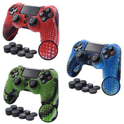 Anti-slip Silicone Cover Skin Grip Compatible for PS4 /SLIM /PRO controller B2D2