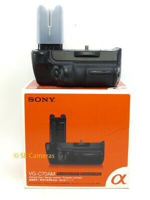 Genuine Sony Vg-C70Am For A700 Dslr Tested Working Battery Grip Boxed Uk