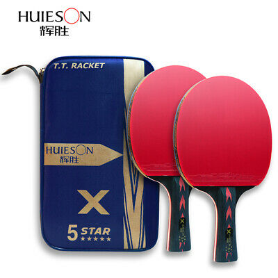 Professional Wooden Blade Ping Pong Paddle Bat for Tournament Play VGEBY 1Pc Table Tennis Racket