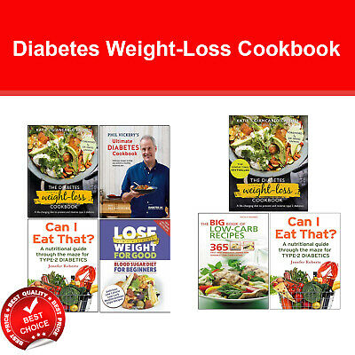 Diabetes Weight-Loss Cookbook, Ultimate Diabetes , Big Book of Low-Carb Recipes