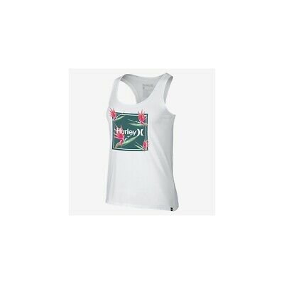 Canotta Hurley One Only Birds Of Paradise Perfect Tank Bianco