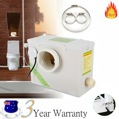 Macerator Sewerage Pump Waste Water Marine Toilet Disposal Unit Laundry 220V AU