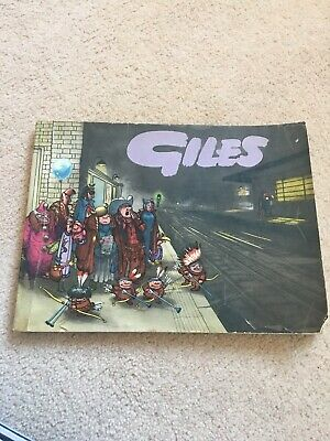 Vintage GILES CARTOONS Annual - 13th Series (Cartoons from 1958 / 59), Unclipped