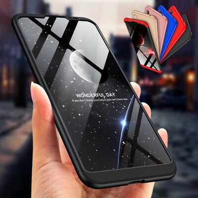 360° Protective Shockproof Hybrid Armor Back Case Cover For Huawei P30 Pro Lite
