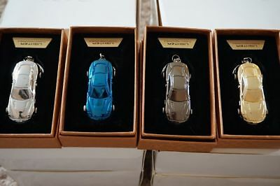 Wholesale job lot 43 pieces Luxury Keyrings USB rechargeable with LED cool car
