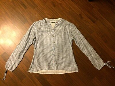 NAPAPIJRI-Camicia ML Donna/Women's LS Shirt Outdoor Hiking Travel Trekking Light
