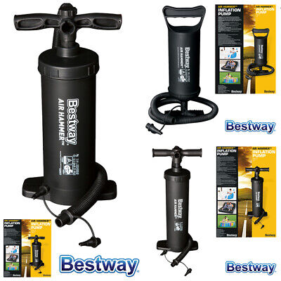 Bestway Air Hammer Inflation Hand Pump Inflatable Swimming Pool Air Bed Dinghy