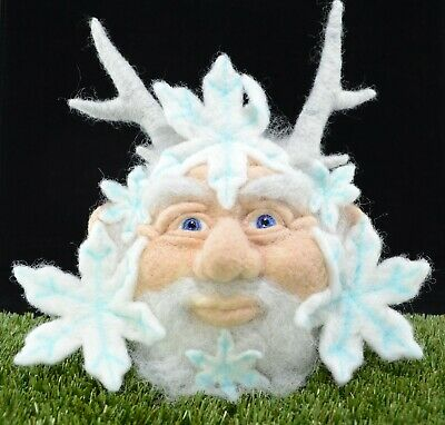 Needle Felted Old Man Winter