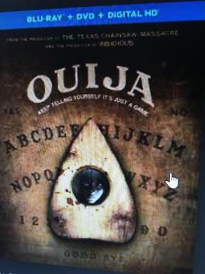 OUIJA -  Used BLU-RAY Disc ONLY * PLEASE READ DESCRIPTION