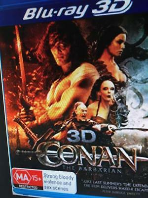 3D Conan The Barbarian -  3D Blu Ray Disc Only  * Please Read Description