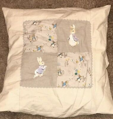 Peter Rabbit Cushion Cover Gorgeous Baby Nursery
