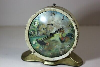 Vintage Smiths Farm Alarm Clock