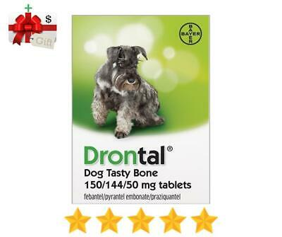 Bayer Drontal Plus for Dogs & Puppies Deworming - 6 Flavored Tablets