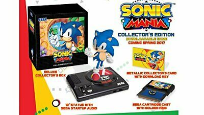 WIE NEU: Sonic Mania: Collector's Edition Nintendo Switch