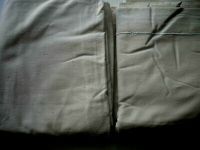 Vintage Double French Hemp 100% linen cotton sheet  new fully washed