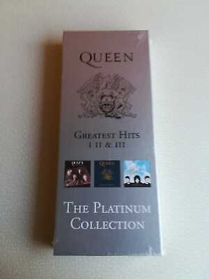 Queen – The Platinum Collection Cd Box - Sealed