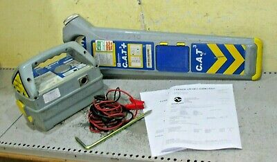 Calibrated CAT 3 + Cable avoidance tool & Genny 3 Detector scanner locator pipe