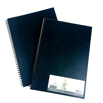 A4 Sketch Pad Book 60 Sheets White Paper Artist Sketching Drawing Doodling Art