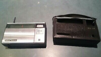 Retro National Panasonic Vintage Transistor Radio Model R-217R