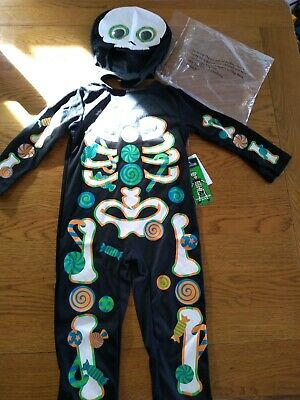BNWT candy skeleton halloween fancy dress up. 2-3 yrs.Illusions  3/3