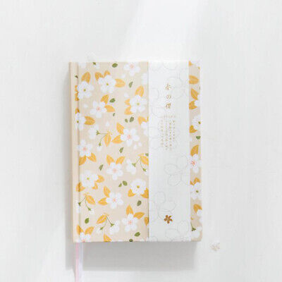 Lovely Flower Diary Trendy Kawaii Weekly Monthly Daily Planner Schedule Yearly N