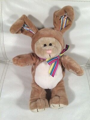 Starbucks Coffee Bearista Bear 2008 Bunny Rabbit 75th Edition Plush Easter Bunny