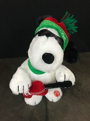 Peanuts Animated Plush Toy 12 Dancing Woodstock Snoopy Christmas Lucy/&Linus Song