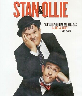 Stan & Ollie 2018 PG biographical comedy-drama movie, new DVD, Laurel and Hardy