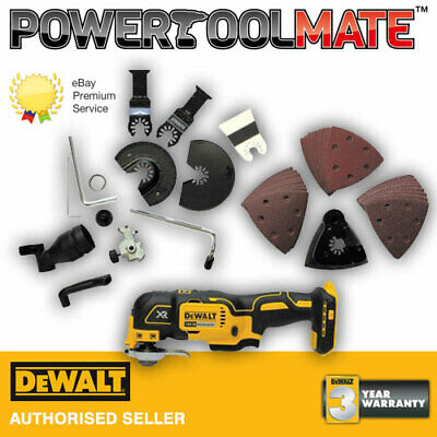 DeWalt DCS355N 18V XR Brushless Multi-Tool with 35pc Accessory Set (Body Only)
