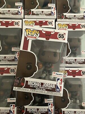 Funko Pop #55 Michael Jordan -(Fanatics Exclusive) - NBA Chicago Bulls