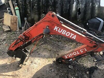 Kubota KX36-1  dipper boom arm with rams