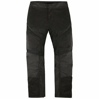 Icon Mens Contra 2 Black Mesh Motorcycle Street Riding OverPants Size: Small
