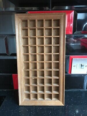 Wooden  Holds 50 Thimbles Rack Display Wall Shelf
