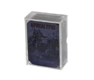 WARHAMMER 40K APOCALYPSE Strategic Asset Cards 40-07-60 New In Box