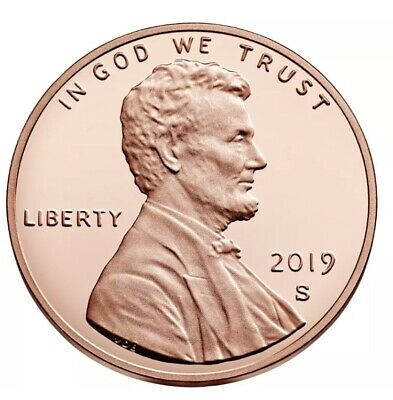 2019-S Proof Lincoln Cent - Gem Proof Coin!