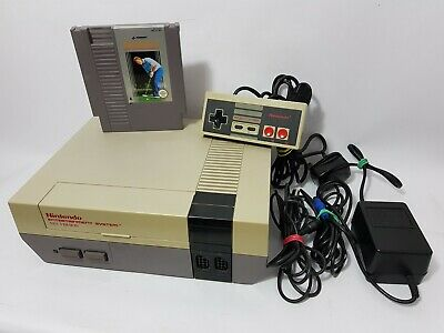 Nintendo Entertainment System NES Console w/Controller & Game See Condition