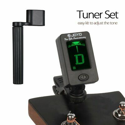 Acoustic Bass Violin Ukulele LED Clip-on Electronic Digital Guitar Tuner Tuning