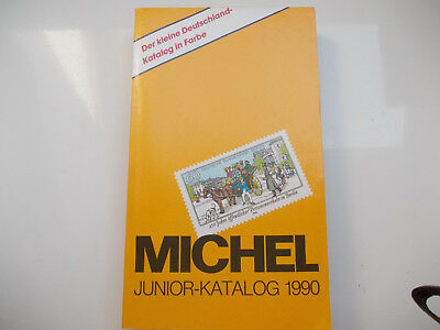 Michel-Katalog Junior Deutschland 1990 ISBN 3-87858-822-4