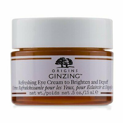 Origins GinZing Refreshing Eye Cream To Brighten and Depuff 15ml Eye & Lip Care